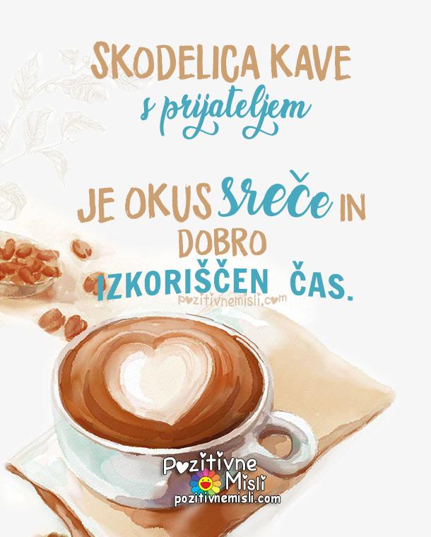 kava- misli o kavi in prijateljih