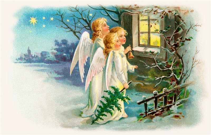 Božični Angeli