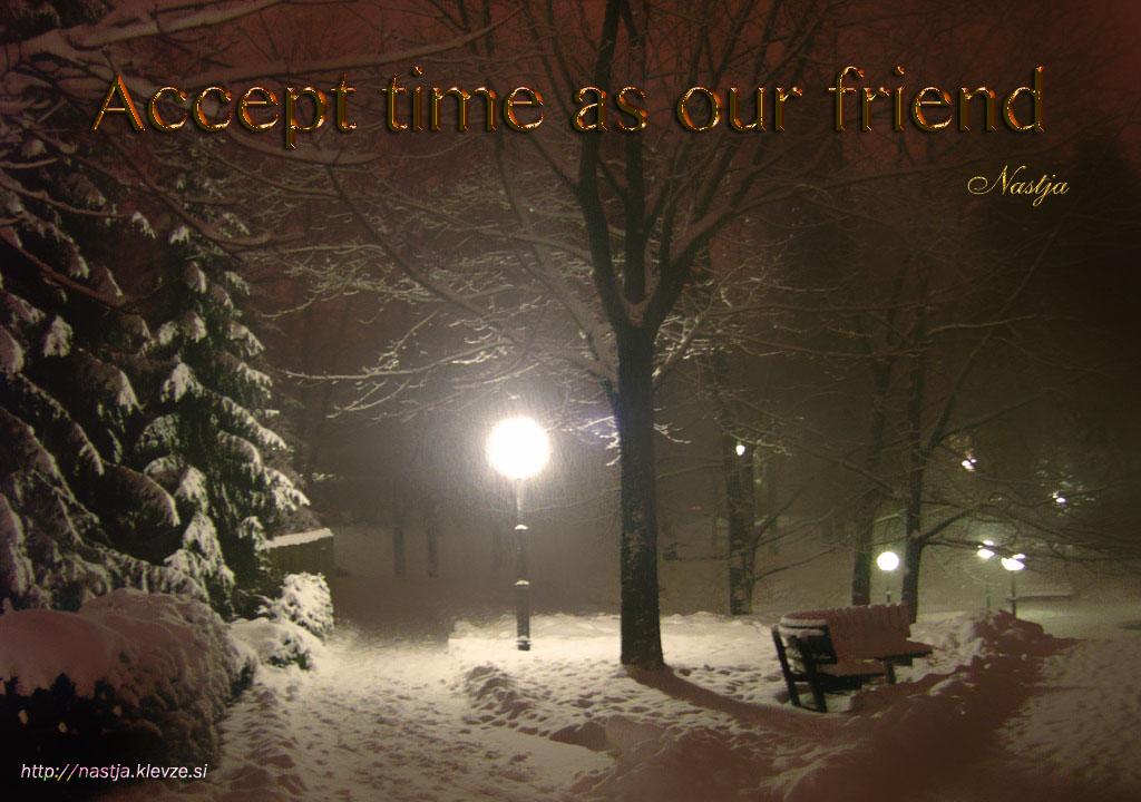 Čas je moj prijatelj