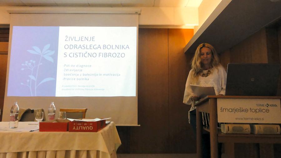 Srečanje - Društvo za cistično fibrozo / Šmarješke toplice 2015