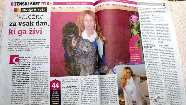 Intervju v reviji SVET24
