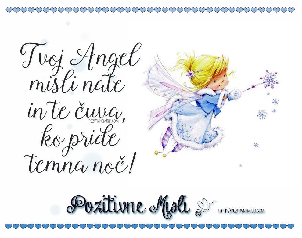 Verzi za valentinovo - Tvoj angel misli nate in te čuva