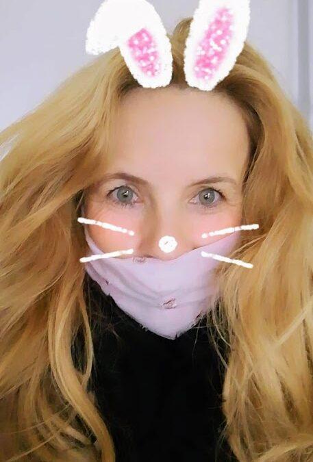 Maska čez obraz - cistična fibroza - nastja klevže