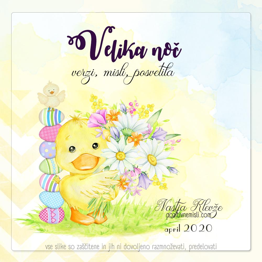 Velikonočna voščila - Natja Klevže